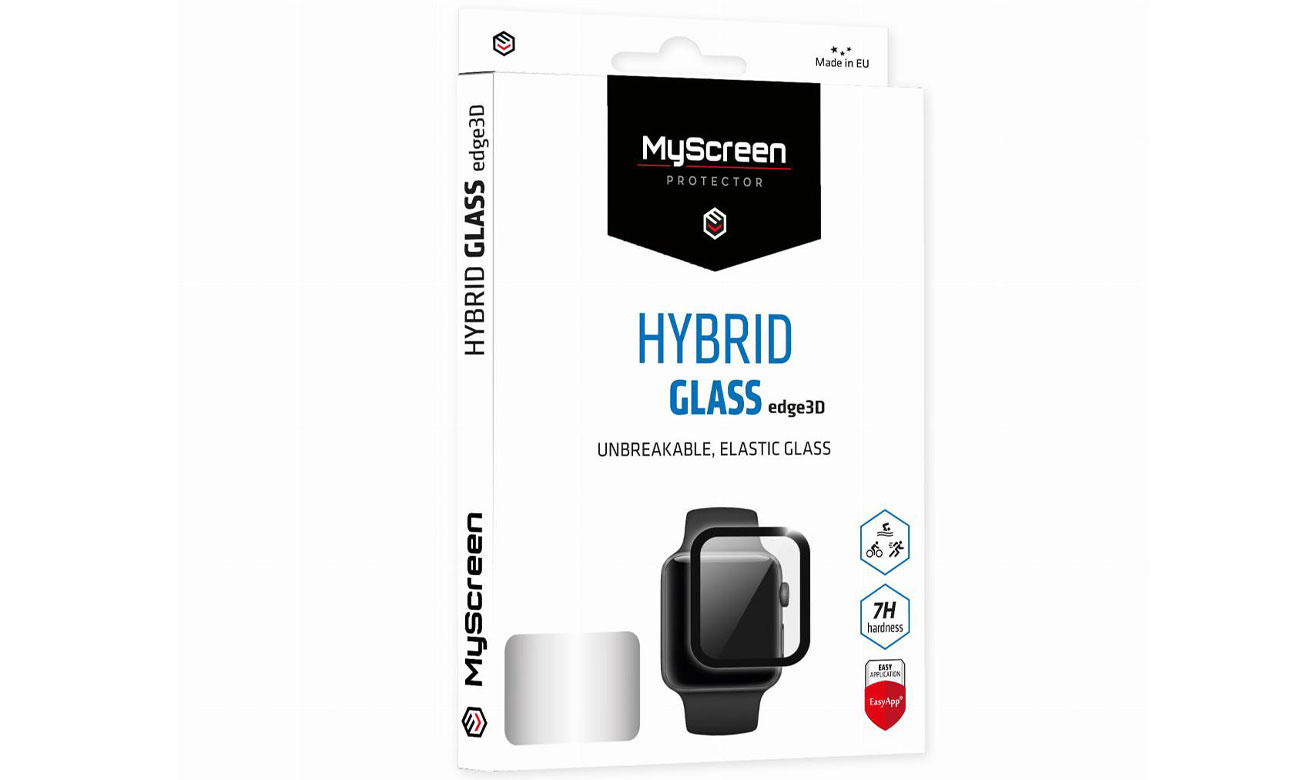 Folia ochronna MyScreen DIAMOND HybridGLASS edge3D do Apple Watch 44mm