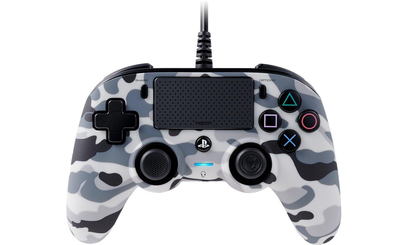 Pad Nacon PS4 Compact Controller Camo Grey