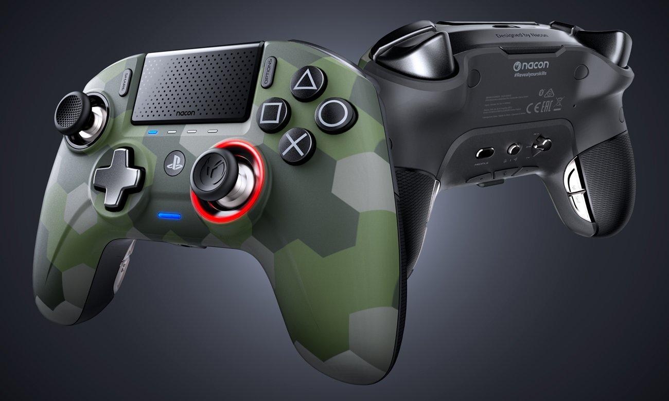 Kontroler Nacon PS4 Revolution Unlimited Pro Camo Green