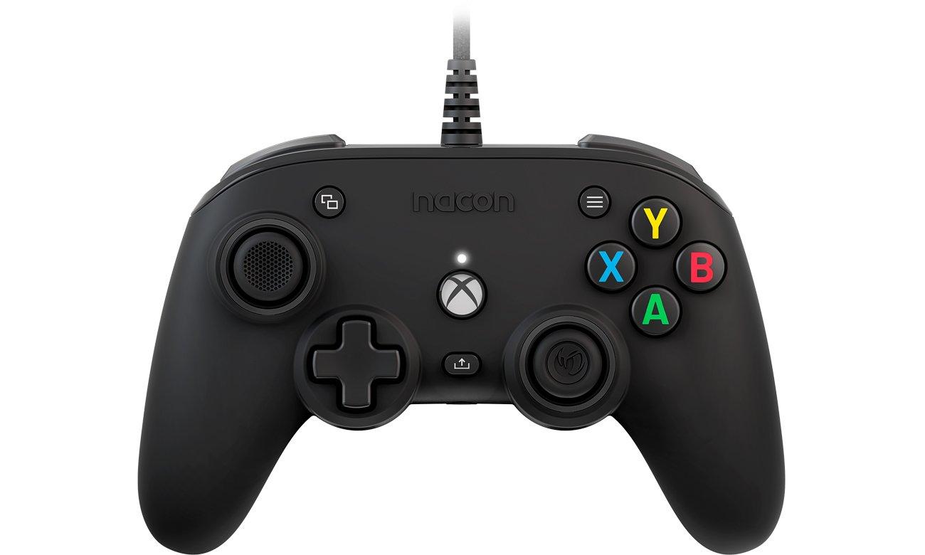Kontroler Nacon XS Compact Pro Controller Czarny