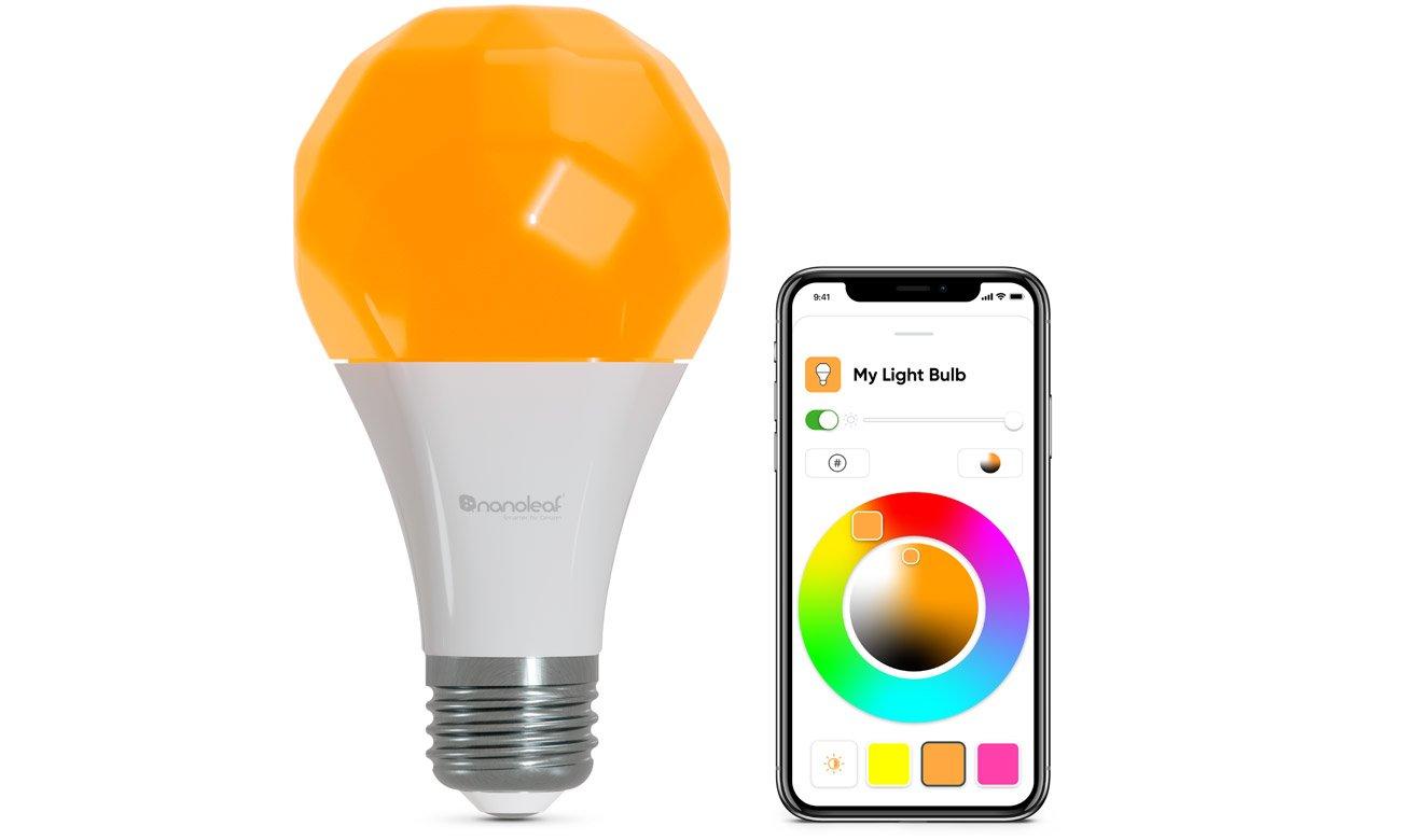 Żarówka Nanoleaf Essentials A19-A60-E27 Smart Bulb