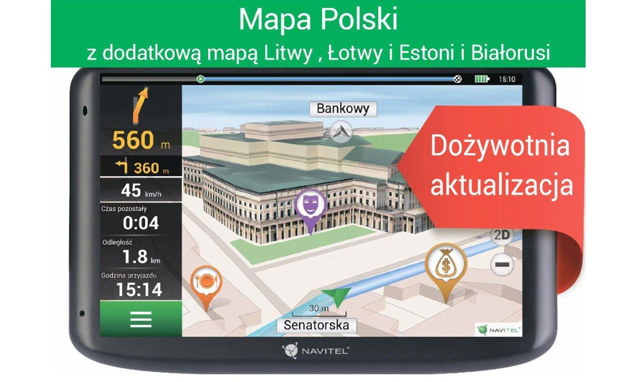 Nawigacja Navitel E100 Polska