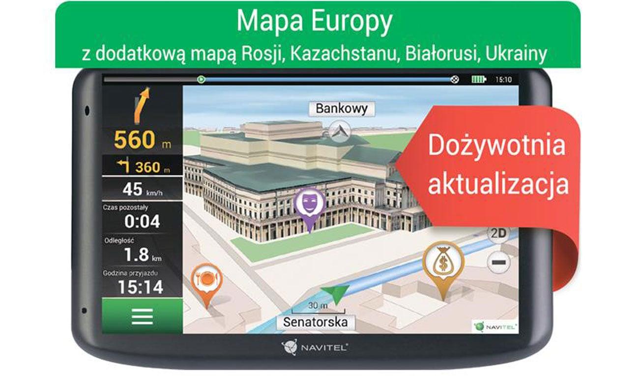Nawigacja Navitel E500 Europa