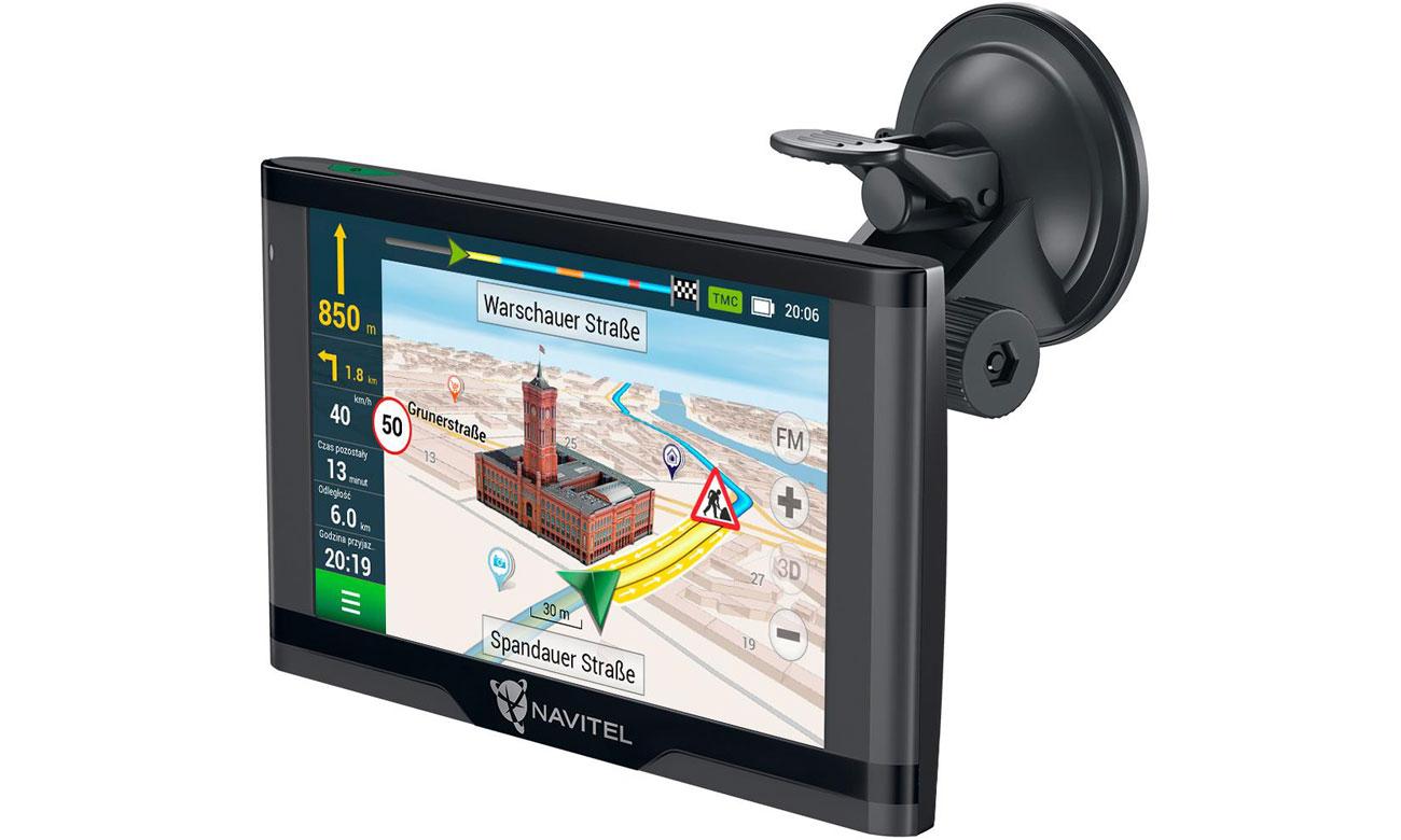 Nawigacja samochodowa Navitel E500 Magnetic TMC