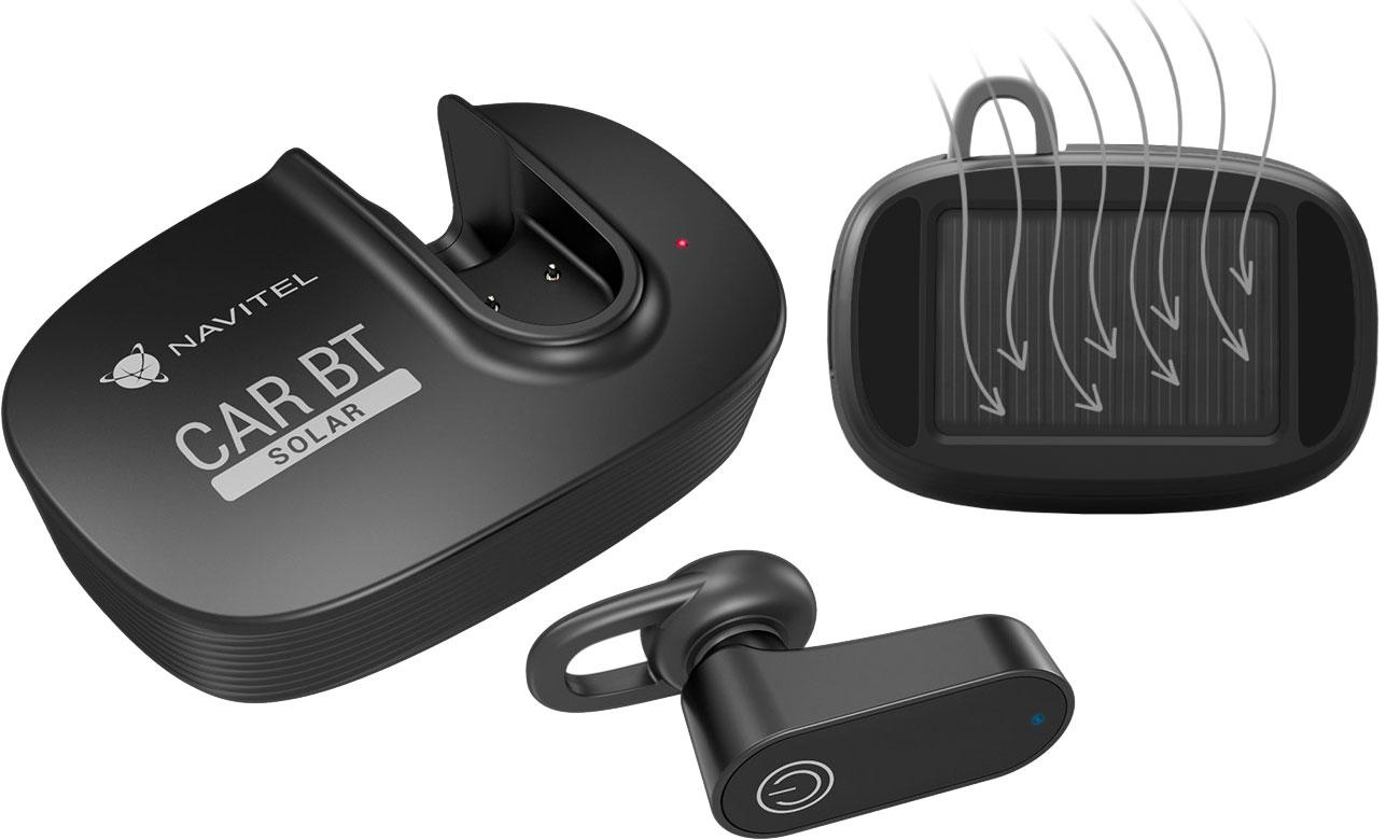 Zestaw słuchawkowy Navitel Solar Car BT