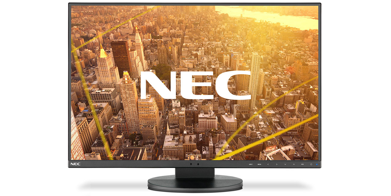 Monitor Nec MultiSync EA241F czarny