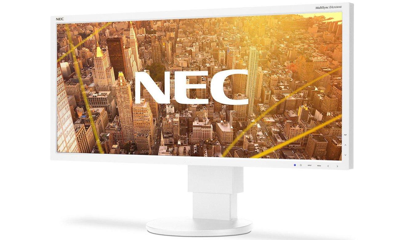 NEC MultiSync® EA295WM ergonomia miejsca pracy