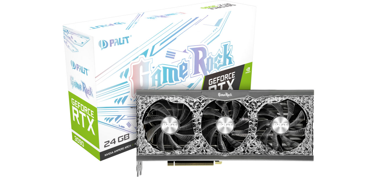 Karta graficzna NVIDIA Palit GeForce RTX 3090 GameRock 24GB GDDR6X NED3090T19SB-1021G