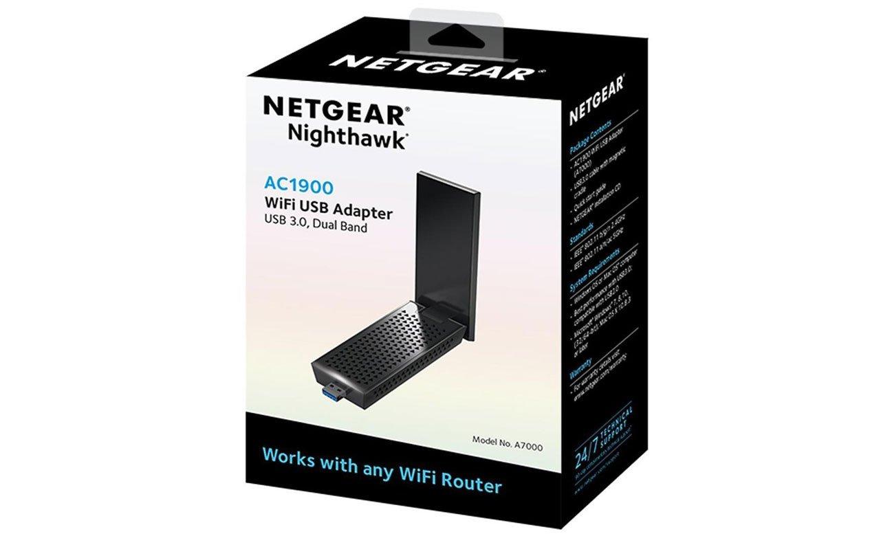 Netgear Nighthawk AC1900 Zaprojektowany z myślą o najwyższej wydajności