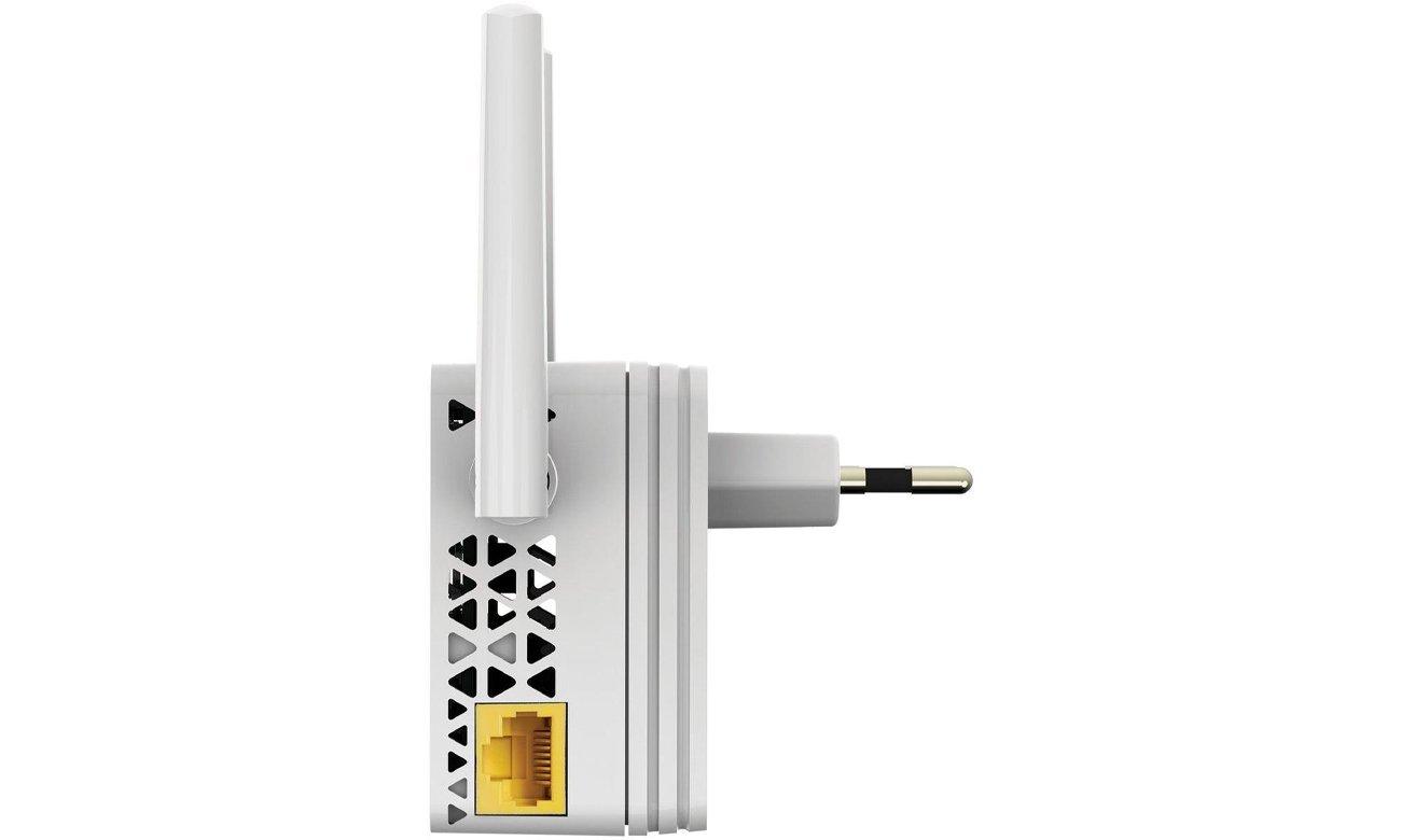 Netgear EX3700 złącze Ethernet