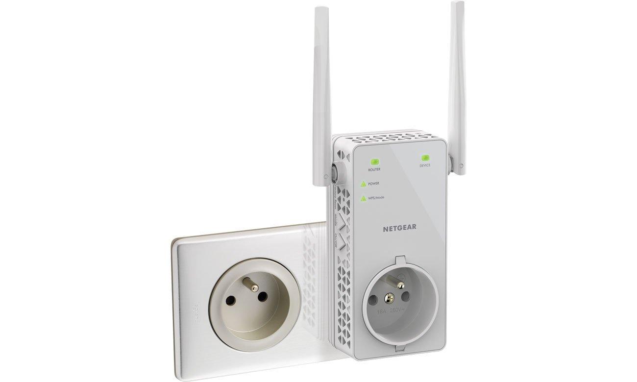 Netgear EX6130 802.11b/g/n/ac 1200Mb/s LAN repeater