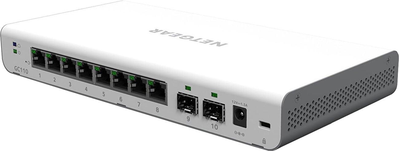 Netgear GC110 Smart Cloud Porty SFP