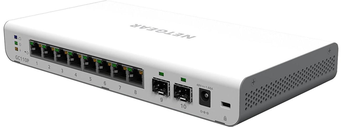 Netgear GC110P Smart Cloud Porty SFP