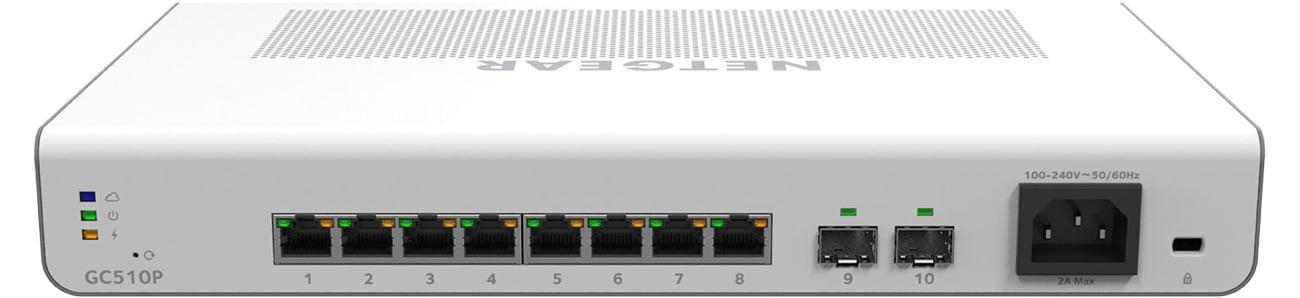Netgear GC510P Funkcja PoE+