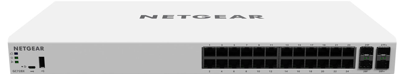 Netgear GC728X Przód