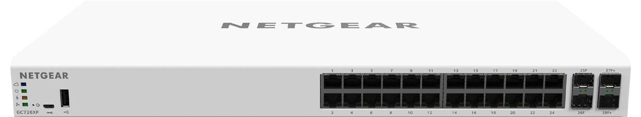 Netgear GC728XP Przód