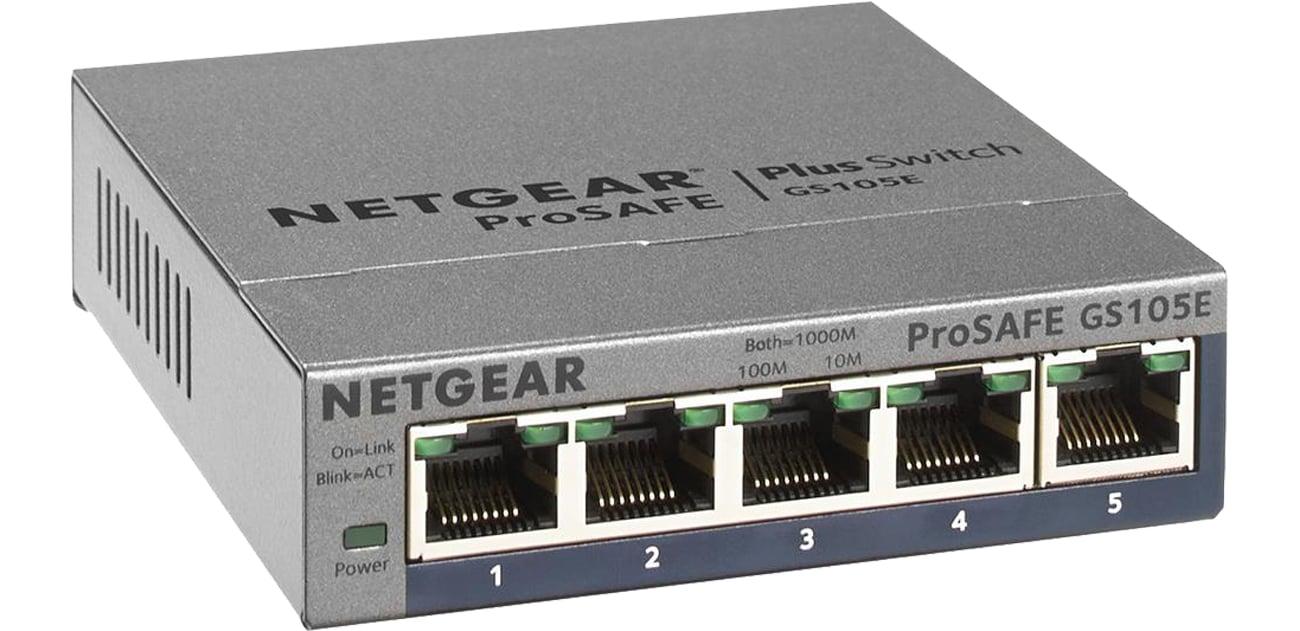 Netgear 5p GS105E-200PES