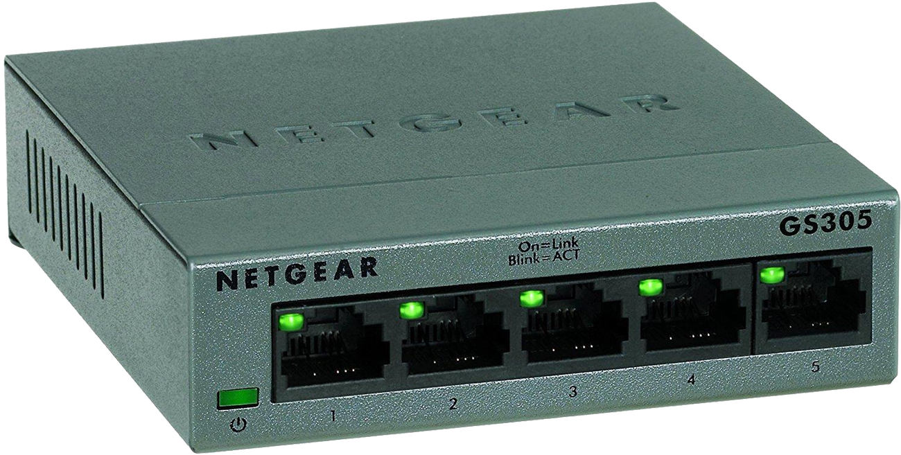 Switch Netgear 5p GS305-100PES