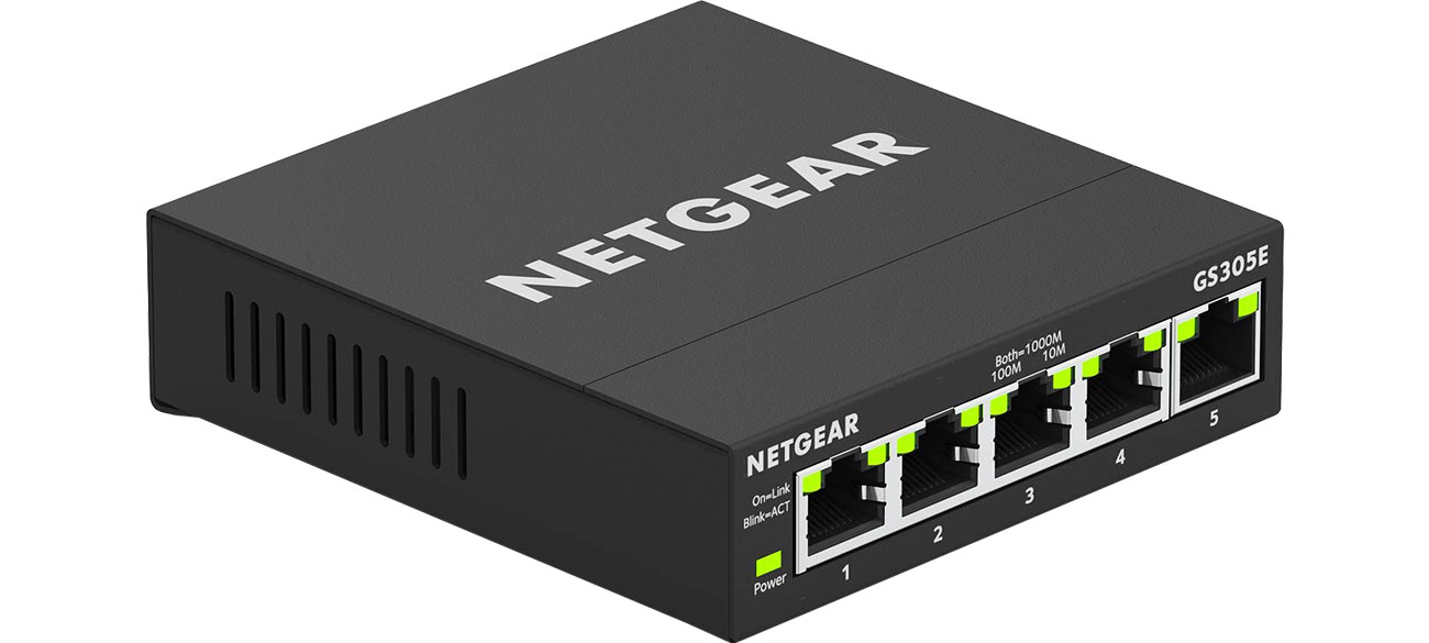 Switch Netgear 5p GS305E (8x10/100/1000Mbit)