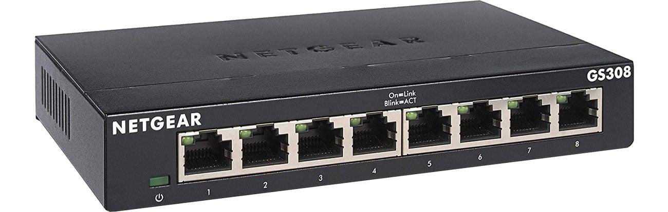 Switch Netgear 8p GS308-300PES