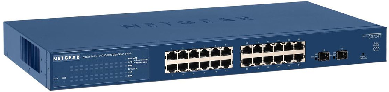 Switch Netgear 	26p GS724T MSP