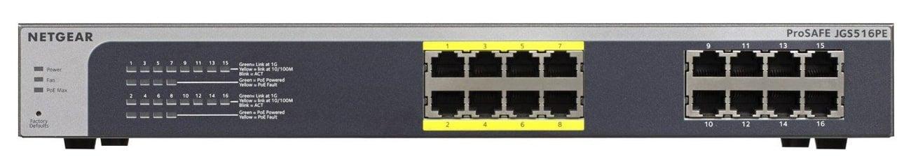 Netgear 16p JGS516PE