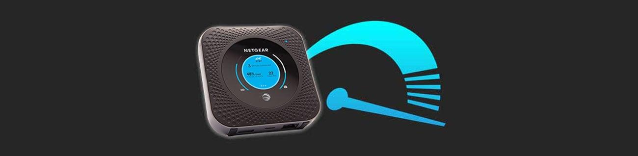 Netgear Nighthawk M1 Prędkość łączności Gigabit LTE