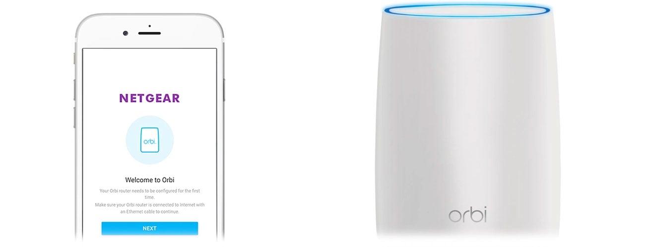 Netgear Orbi WiFi System Aplikacja