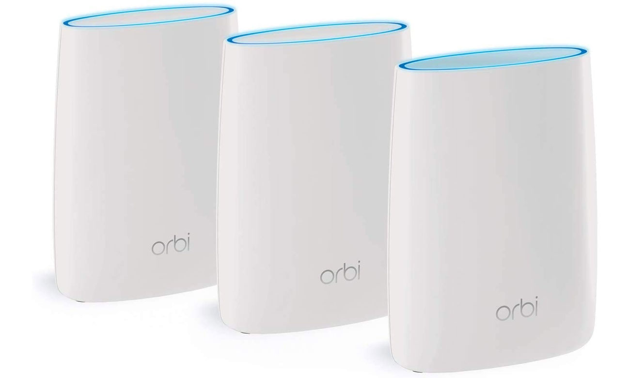 System Mesh Wi-Fi Netgear Orbi WiFi System (3000Mb/s a/b/g/n/ac) RBK53S-100PES MU-MIMO Tri-Band AC