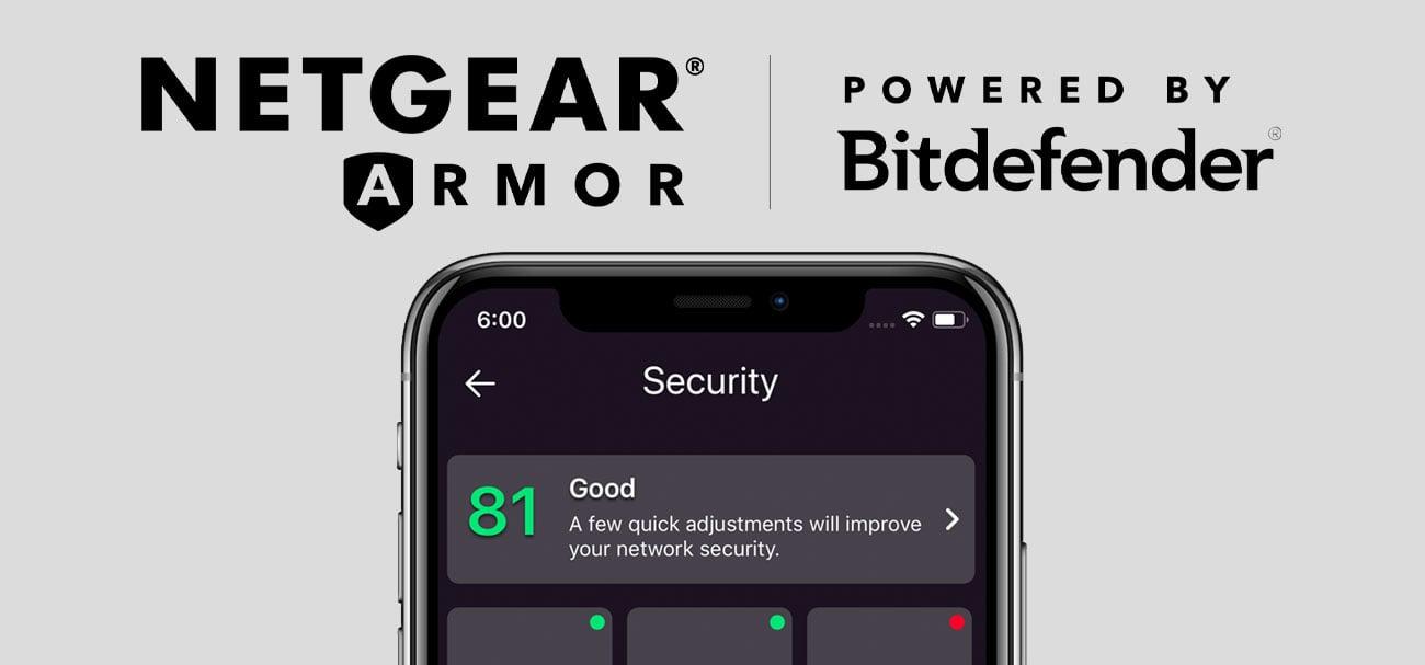 NETGEAR Armor z Bitdefender Total Security 2019