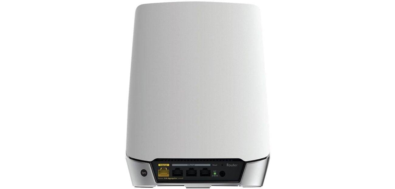 System Mesh Wi-Fi Netgear Orbi WiFi 6 RBK753 (4200Mb/s a/b/g/n/ac/ax) 3xAP RBK753-100EUS