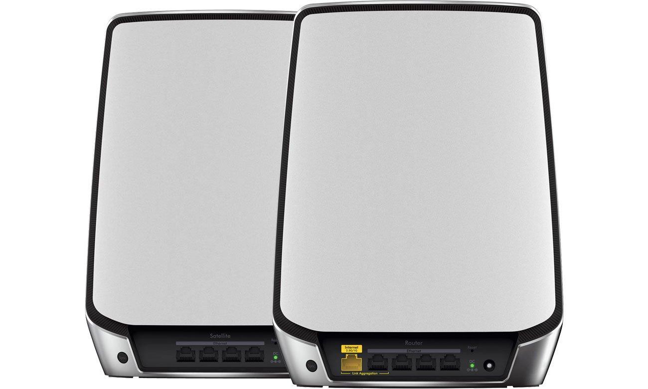 Netgear Orbi RBK852 - Router, satelita - złącza