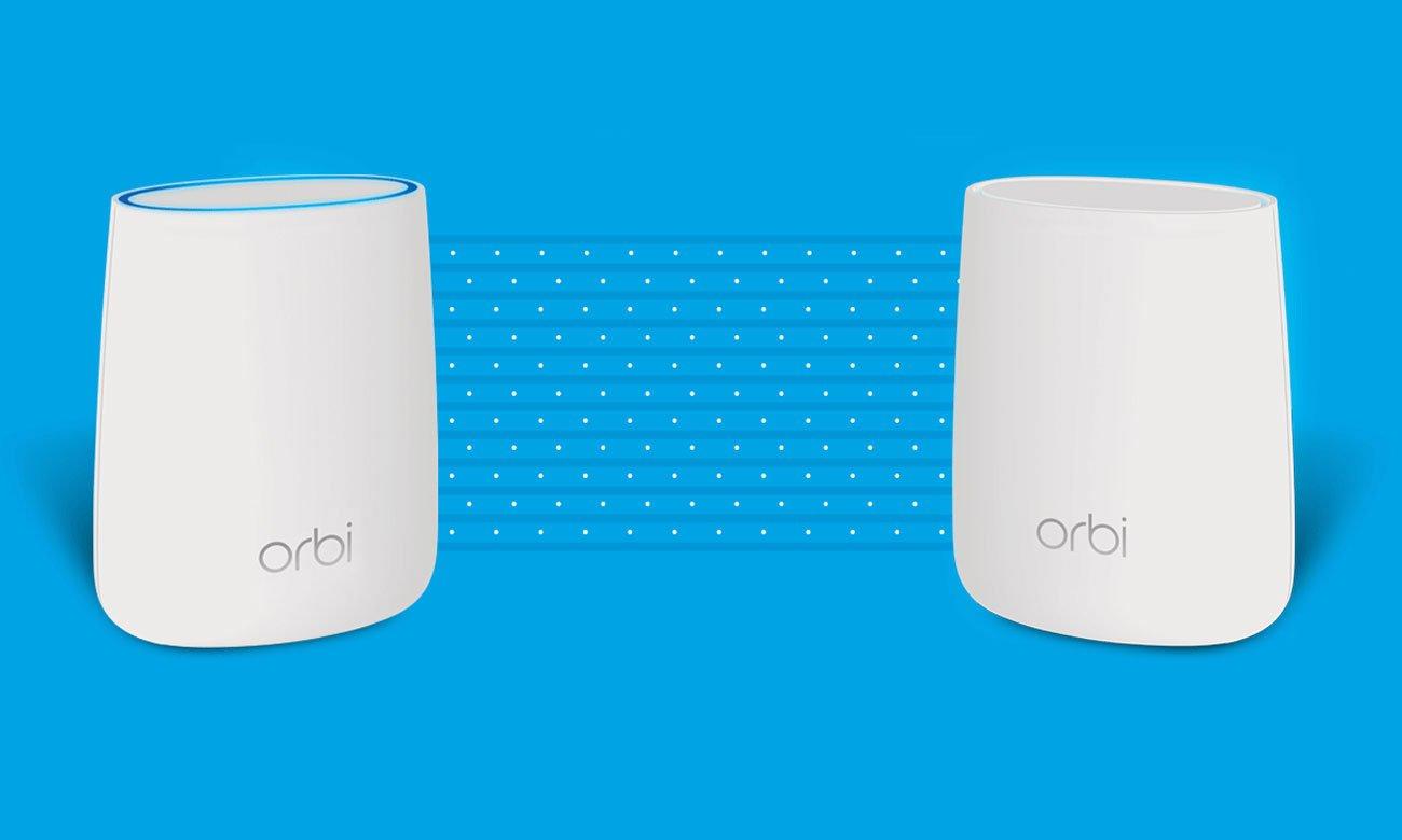 Netgear Orbi WiFi Router - Połączenie