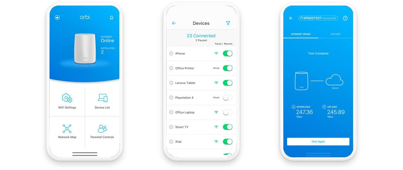 Netgear Orbi WiFi Router - Aplikacja Orbi