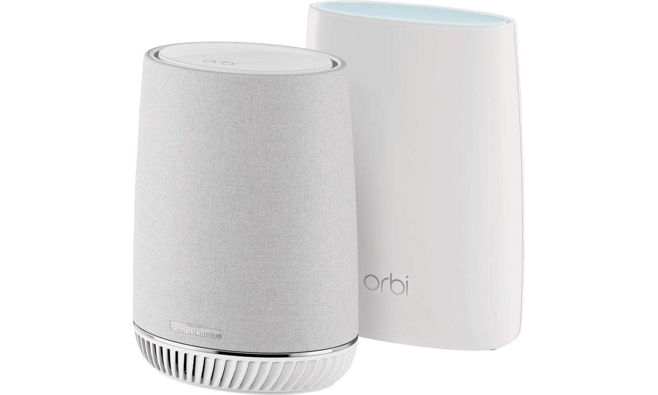Netgear Orbi Voice WiFi System 3000Mb/s a/b/g/n/ac RBK50V-100EUS MU-MIMO Tri-Band AC