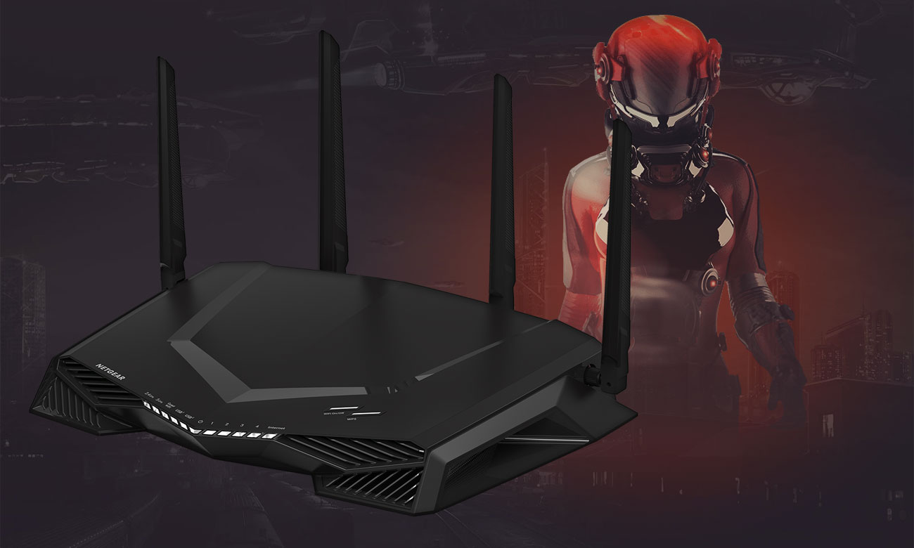 Netgear Nighthawk XR500 Wi-Fi AC do 2600 Mb/s