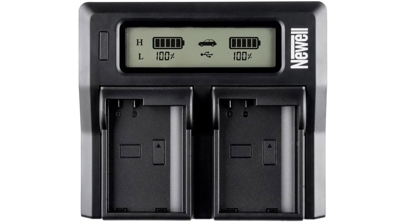 Ładowarka Newell DC-LCD do akumulatorów LP-E6