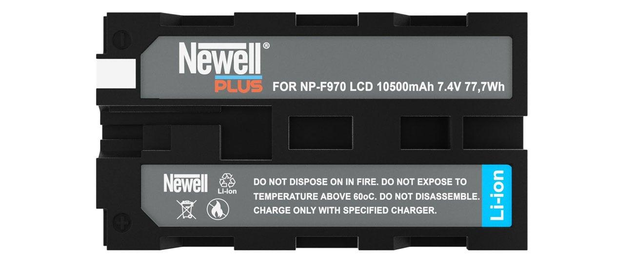 Kompatybilność Newell Plus  NP-F970 LCD