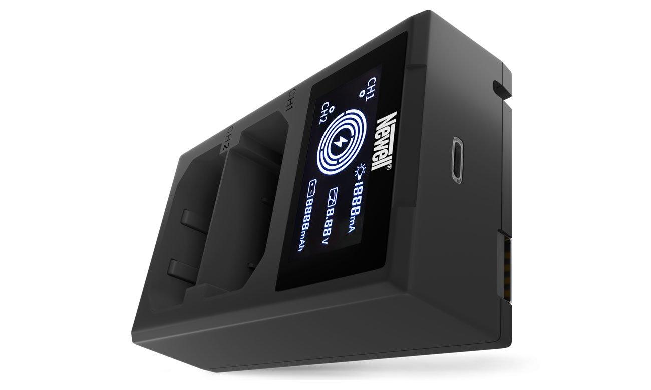 Ładowarka Newell FDL-USB-C do akumulatorów NP-W126