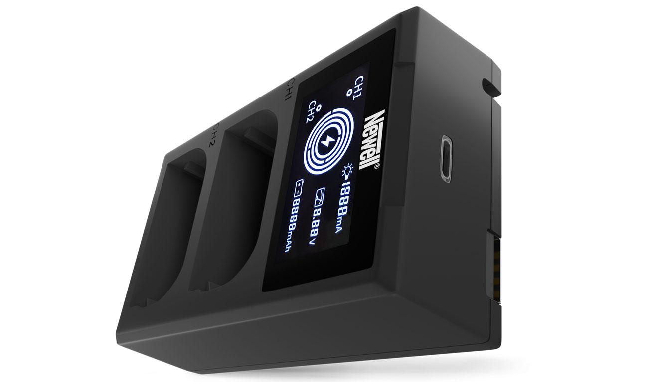 Ładowarka Newell FDL-USB-C do akumulatorów LP-E6