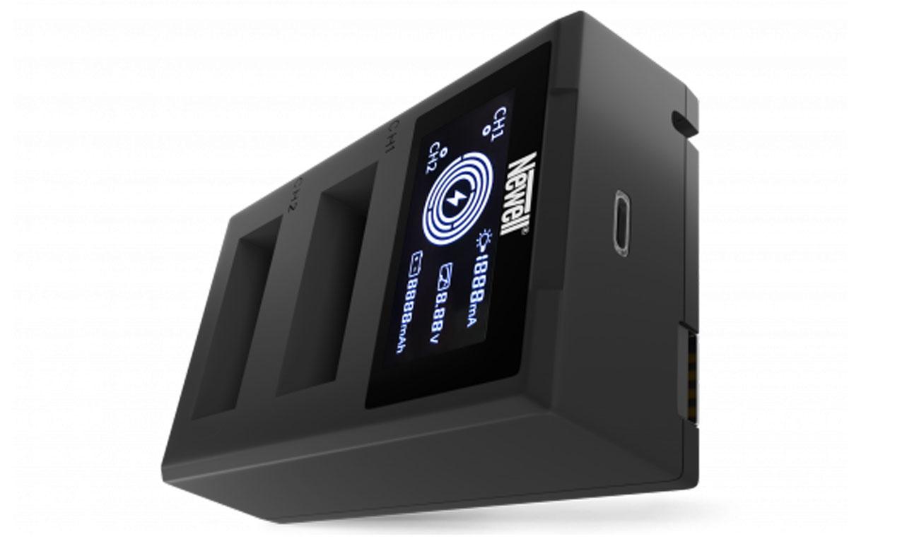 Ładowarka Newell FDL-USB-C do akumulatorów LP-E12