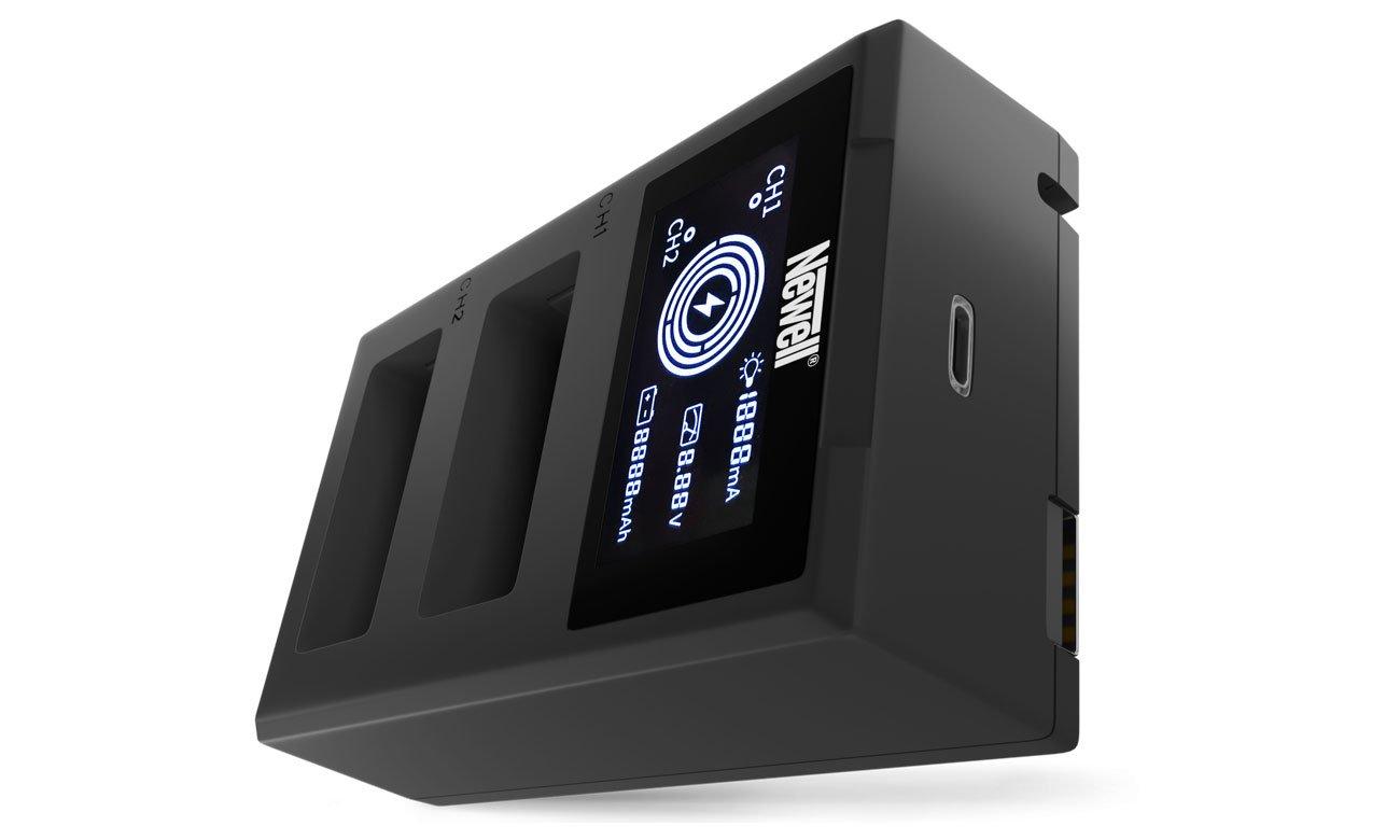 Ładowarka Newell FDL-USB-C do akumulatorów LP-E17
