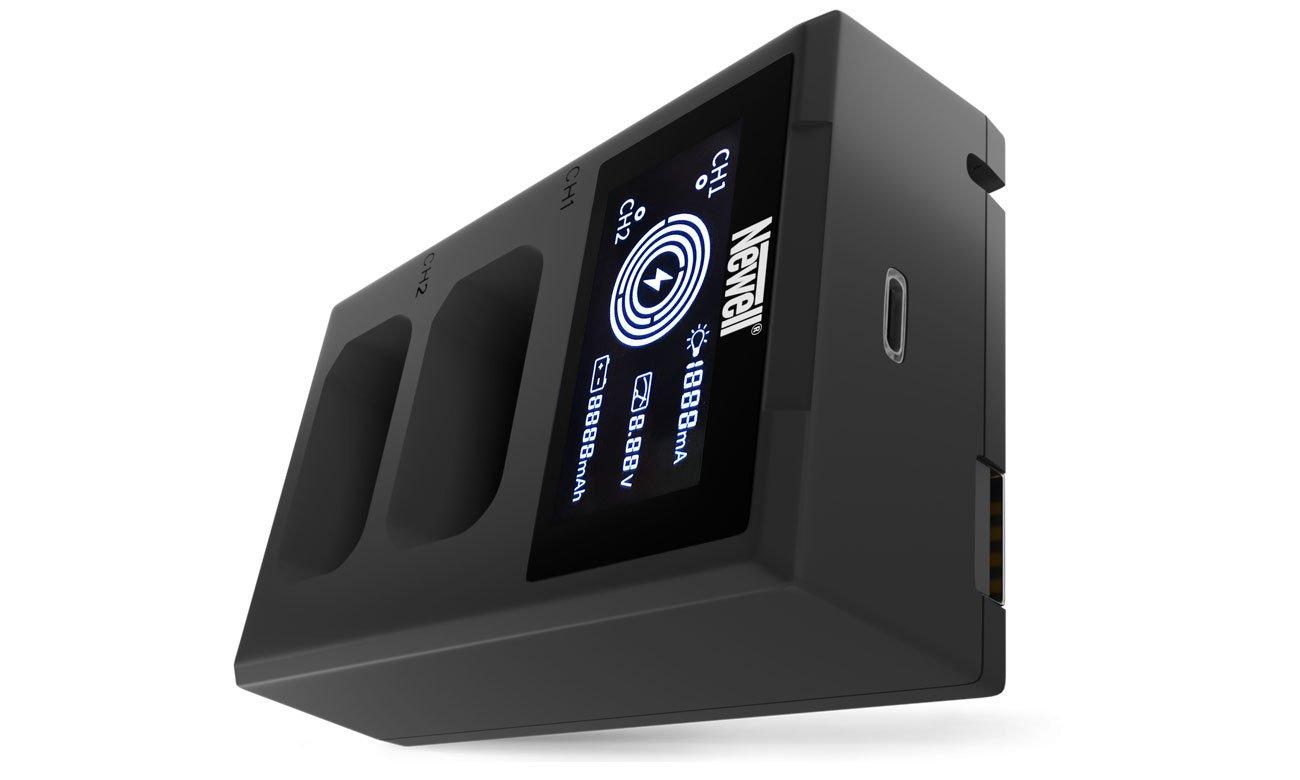 Ładowarka Newell FDL-USB-C do akumulatorów NP-FW50