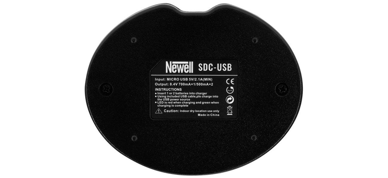 Ładowarka Newell SDC-USB do NP-W126