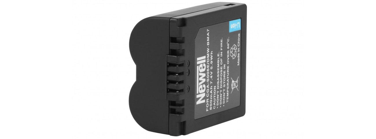 Akumulator Newell zamiennik Panasonic CGA-S006E