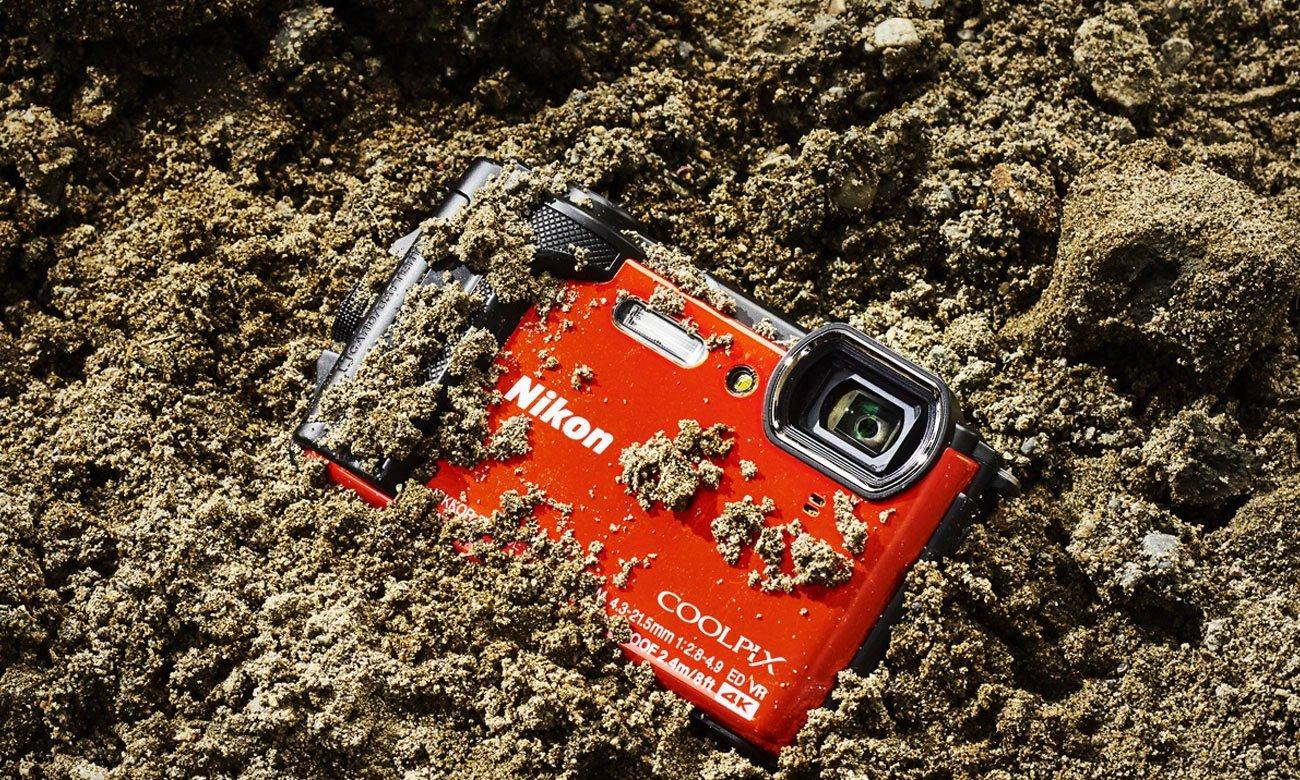 Nikon Collpix W300 Wytrzymałość