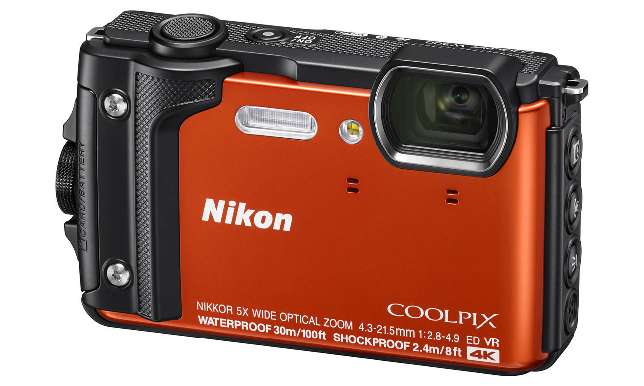 Nikon Collpix W300 Nagrania W Jakości 4K