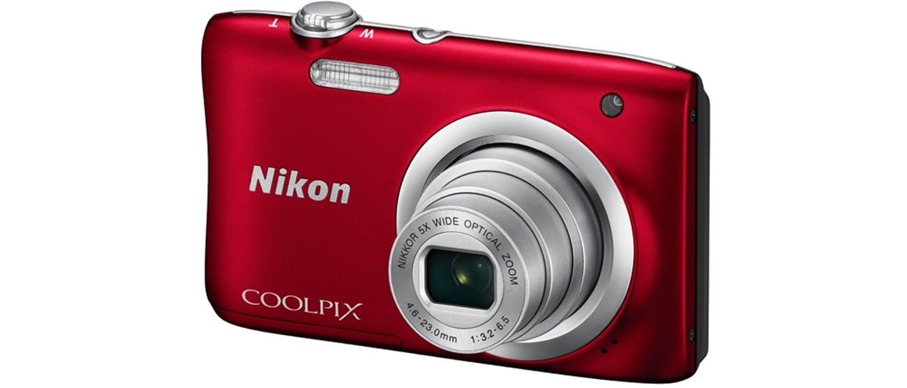 Nikon Coolpix A100 czerwony