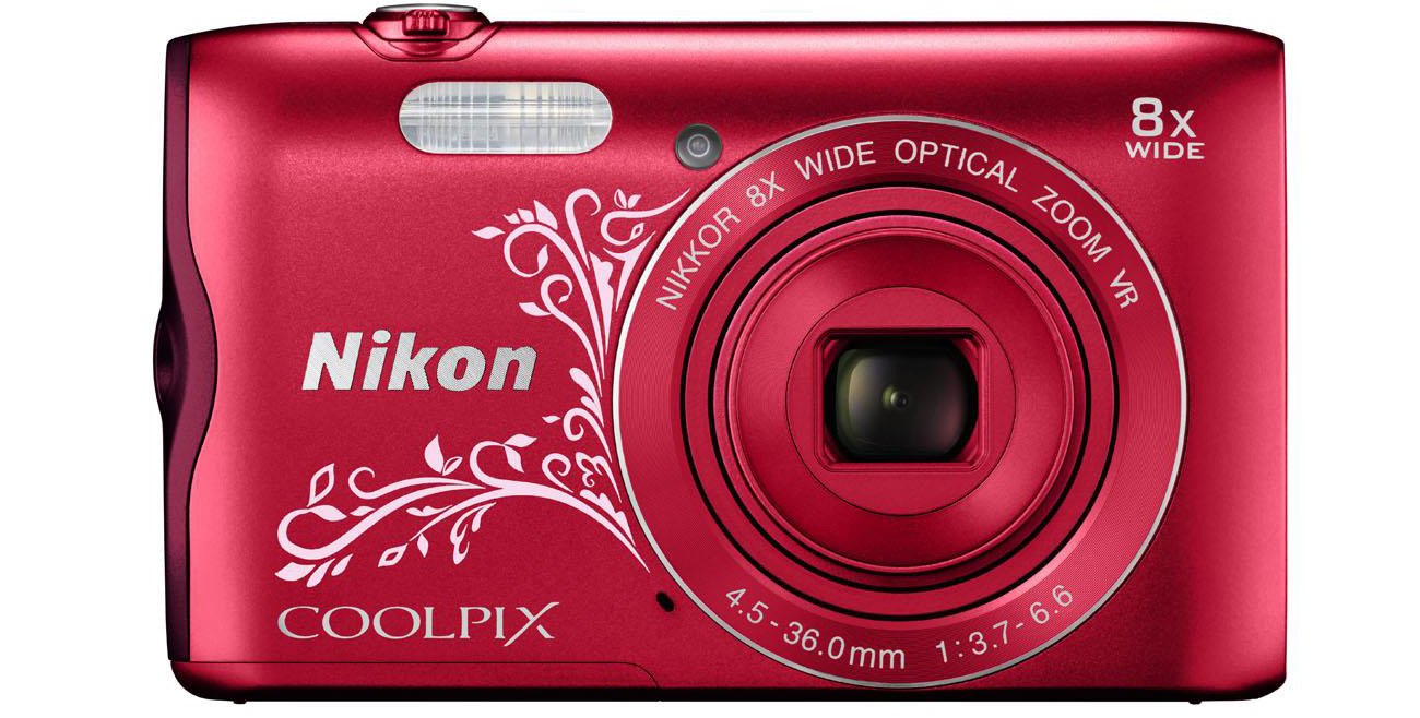 Aparat kompaktowy Nikon Coolpix A300 przód