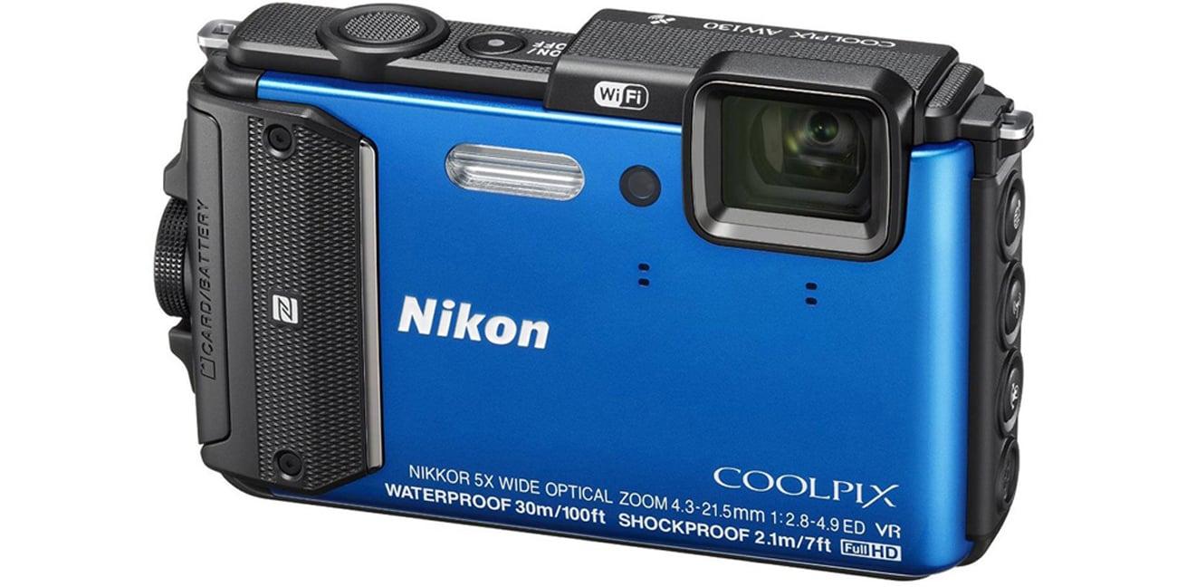 Nikon Coolpix AW130 niebieski